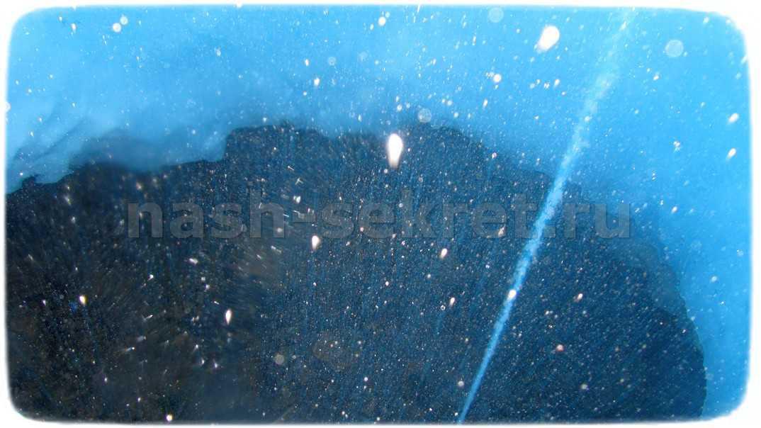 ледяной фонтан изнутри