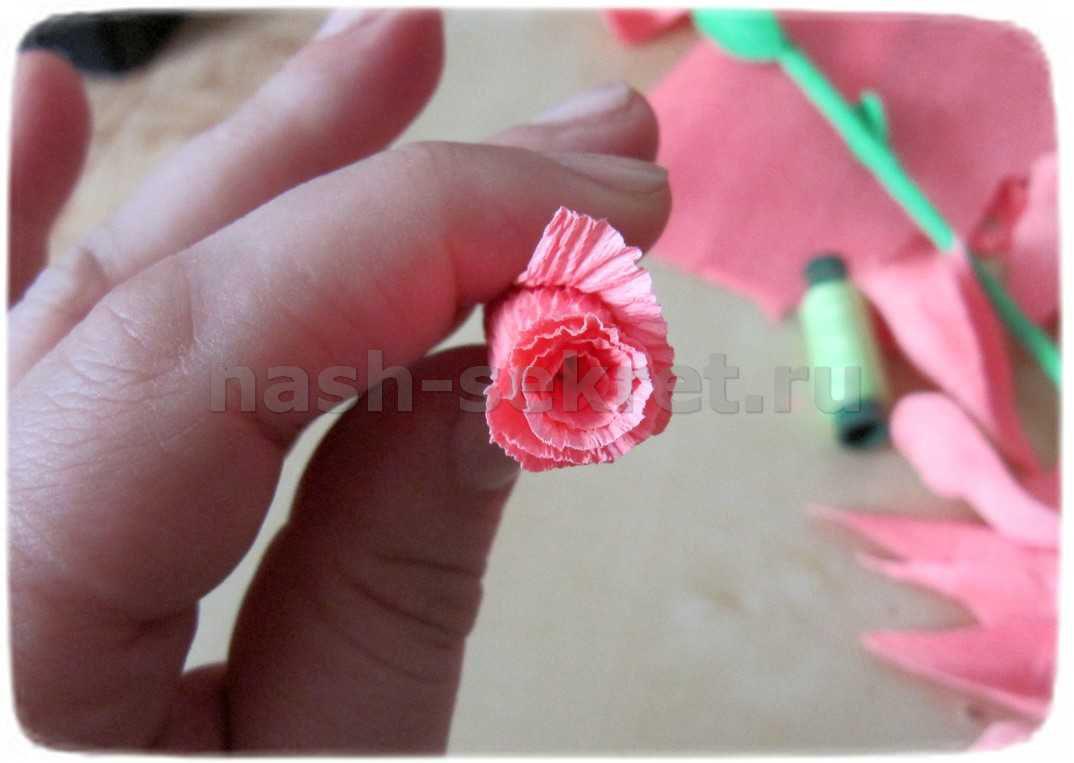 Сердцевина розы