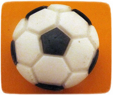 мыло футбольный мяч