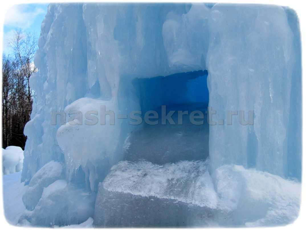 тоннель в фонтан