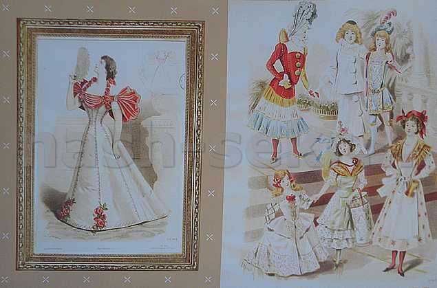 изысканные платья 19 века