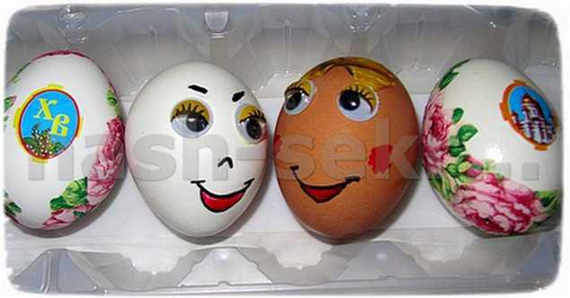 поделка яйцо в детский сад