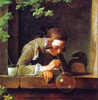 Ж.Б.Шардена «Мыльные пузыри»