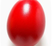 A red egg