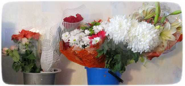 букеты роз после праздника