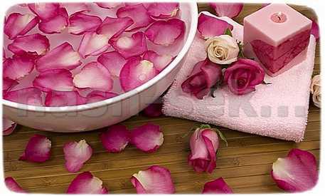 лепестки роз для умывания