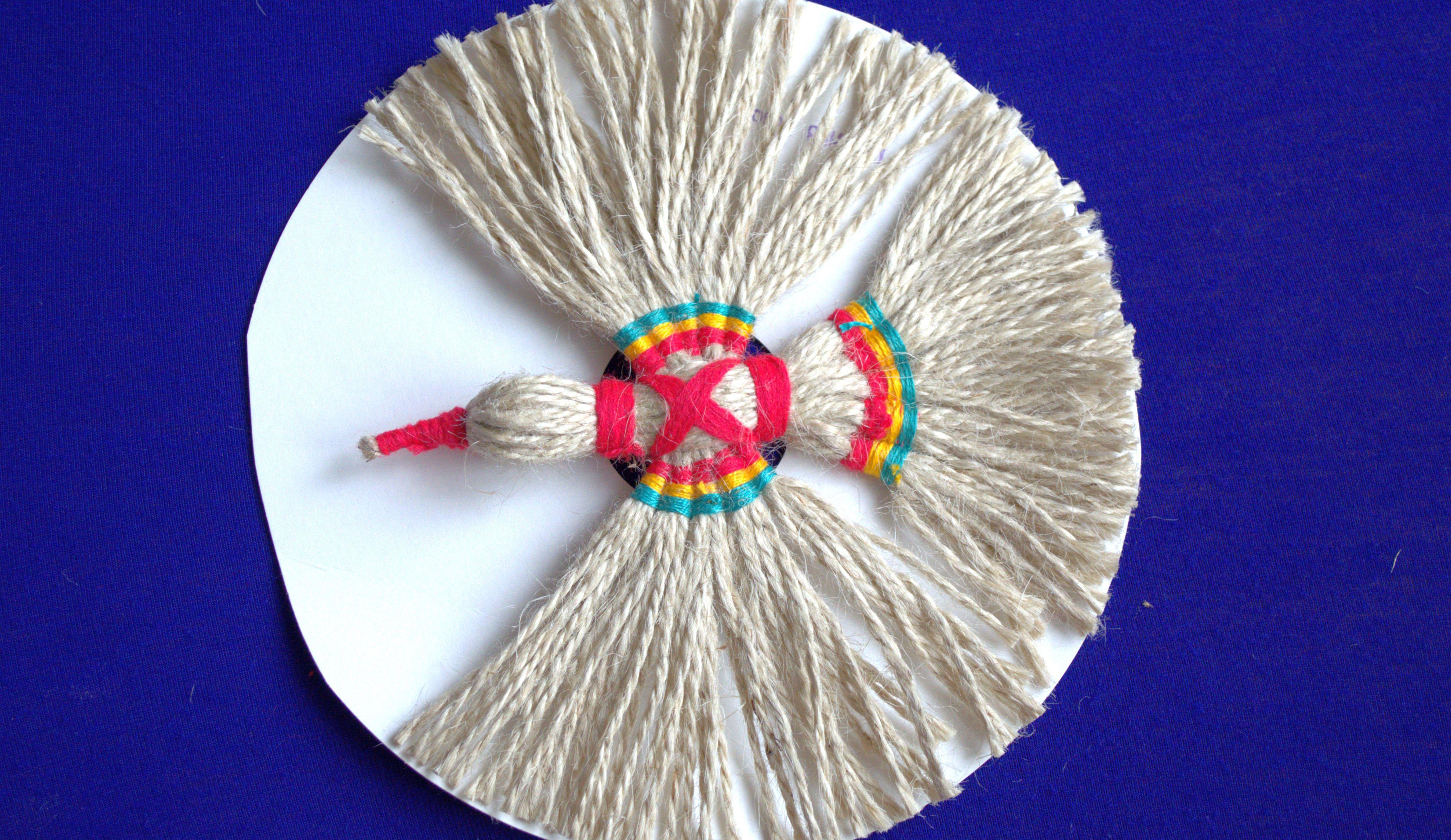 схема плетения оберега