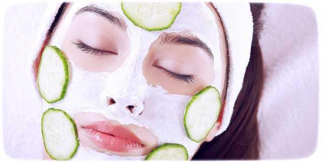 Как сделать маску из огурцов для лица