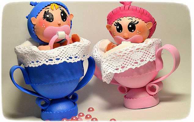 куколки из фоамирана