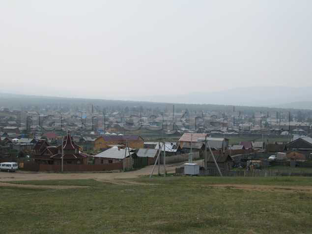Поселок Хужур