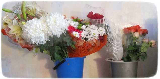 цветы после праздников