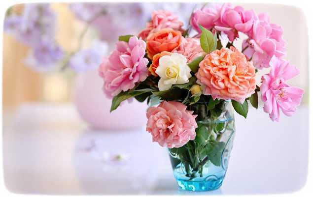 букет из садовых цветов своими руками