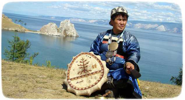 шаман с острова Ольхон