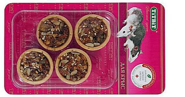 Тарталетки для декоративных крыс
