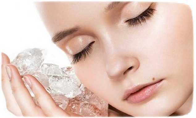Косметический лед для кожи вокруг глаз