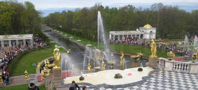 петергоф фонтаны фото