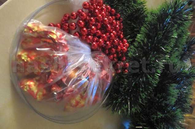 материалы для рождесвенского венка