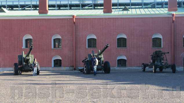Пушки бастиона