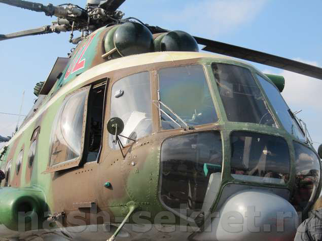 вертолет вид спереди