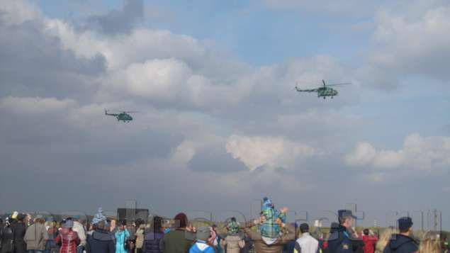 вертолеты на авиашоу