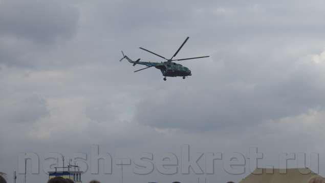 вертолет на шоу
