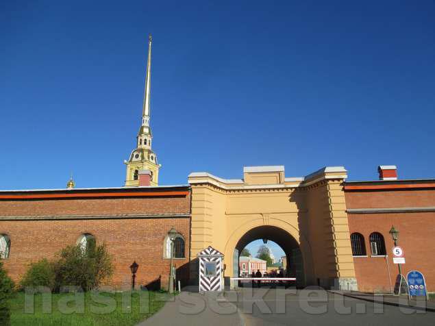 Ворота в Петропавловку