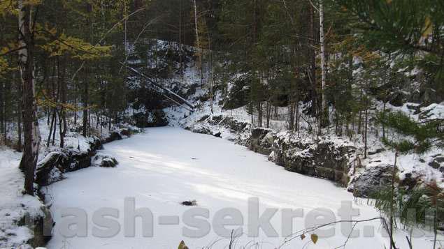 Штольня подо льдом