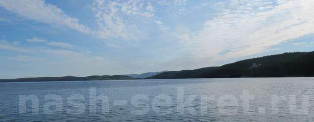 Озеро вид