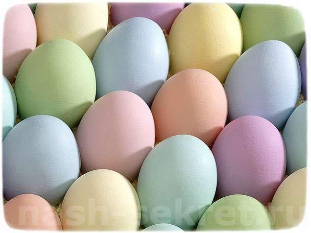 чем покрасить яйца на пасху без химии