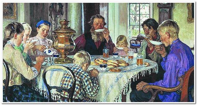 Чаепитие на руси традиции обычаи