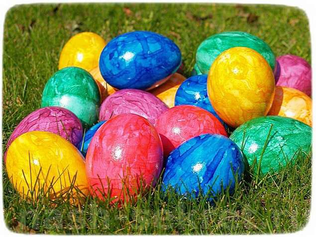 Окрашивание яйц