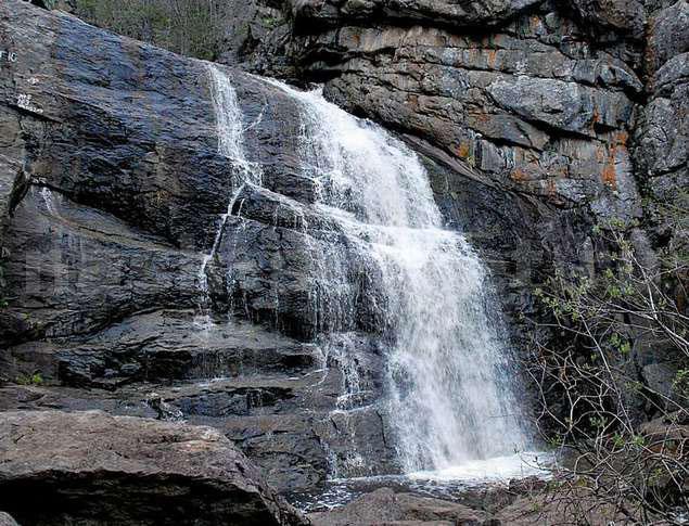 Водопад Гадельша Башкирия