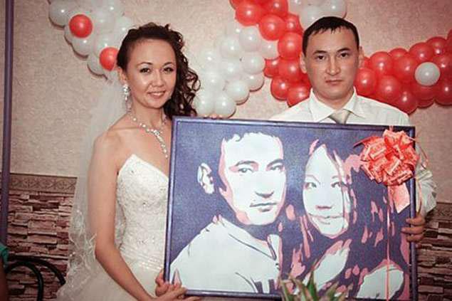 Подарок на свадьбу картина