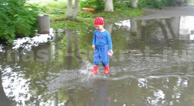 О дожде для детей
