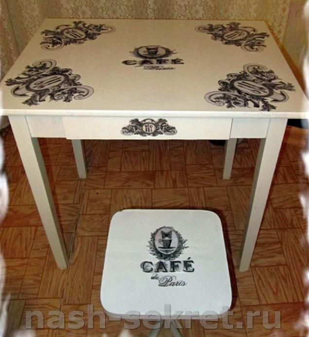 Реставрированная мебель
