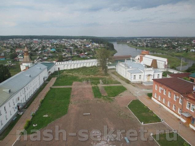 Кремль с колокольни