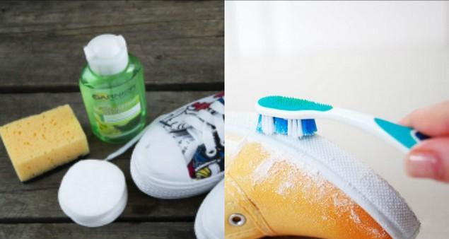 Как очистить белую подошву обуви