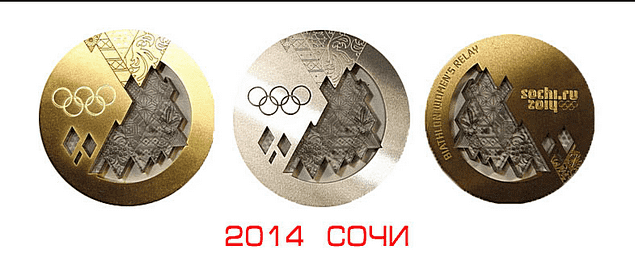 Медали Олимпиады вСочи