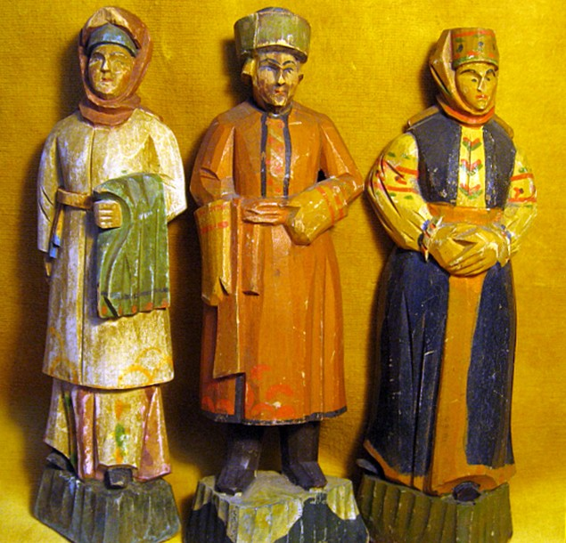 Деревянные русские куклы